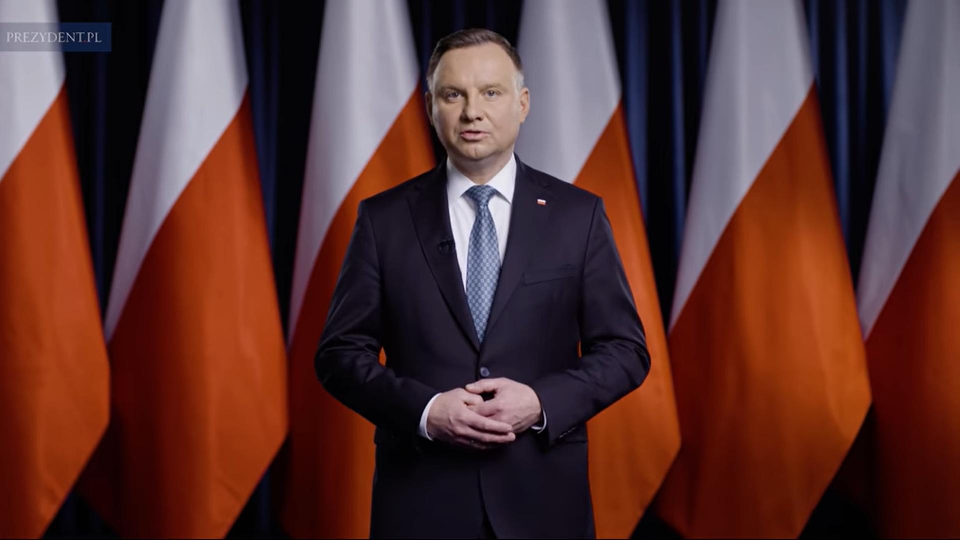 Orędzie Prezydenta Andrzeja Dudy w sprawie koronawirusa